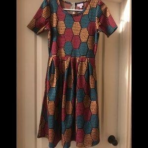 Lularoe Amelia Dress. Size small. Good condition